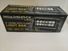 "Roadshock LED 8"" Combo Spotlight Floodlight Light Bar 1440 Lumens, 696ft, ip67"