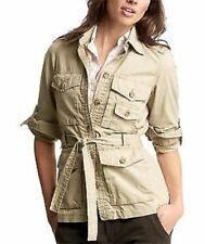 Gap Women's Khaki Jacket, Sz XS Petite, XSP, NEW