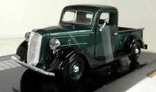 Motormax 1/24 Scale 73200AC 1937 Ford Pickup Green Black Diecast model car