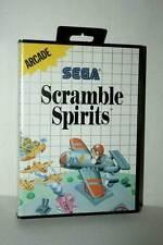 SCRAMBLE SPIRITS GIOCO USATO SEGA MASTER SYSTEM EDIZIONE ITALIANA FR1 45177