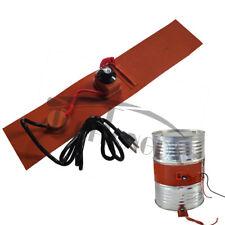 Intbuying 110V Temperature Control Oil Drum Heater 102*1778*1.8 mm 750W