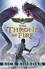 The Kane Chronicles: The Throne of Fire, Riordan, Rick Hardback Book