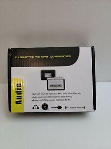 Portable USB Cassette Tape-to-MP3 Converter Capture Digital Audio Music Player