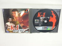 PS1 K1 REVENGE Fighting Illusion Playstation JAPAN Game p1