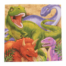 16 Dino Blast Napkins|Dinosaur Party|Paper Party Napkins|Party Napkins