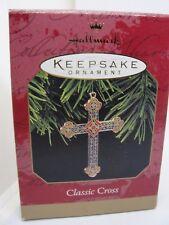 1997, Classic Cross, Hallmark Keepsake Ornament