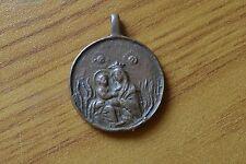 ANTICA MEDAGLIA VOTIVA SALUS OMNIUM 1855  numismatica SUBALPINA