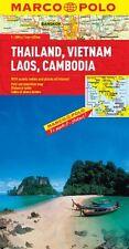 Thailand, Vietnam, Laos, & Cambodia Map  New Map, Book Marco Polo Travel
