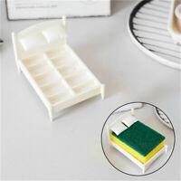 Kitchen Sponge Holder Sponge Washer Bed Shelf Innovative Sink Storage Rack Fun