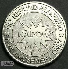 Kapow Amusement Token 27mm - Loganholme Queensland