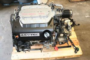 08-12 Honda Accord EXL 3.5L VTEC J35Z3 Engine 6-speed manual Transmission 89C7