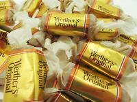 Werther's 8oz Pumpkin Spice Soft Caramels Chews Chewy Candy ~ Half Pound Sweets