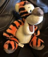 "Disney Vintage Tigger Disneyland  Plush Cuddly Soft Toy Walt Disney World 10 """