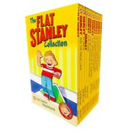 The Flat Stanley Adventures Series Collection 12 Book Box Set by Jeff Brown