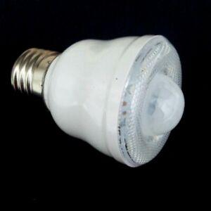 LAMPADINA CON SENSORE DI MOVIMENTO ATTACCO E27 LAMPADA 10 LED SMD 2W