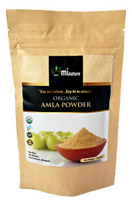 Natural Organic Amla Powder Indian Gooseberry 100g Premium Grade 100% Pure