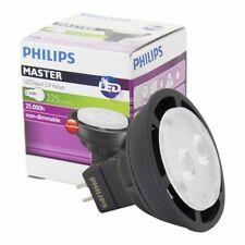 Philips 3.4w (=20w) MASTER LED Spotlight Bulb - 3000k / GU5.3 (225 Lumens) 24°