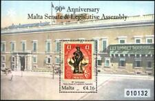 Mint S/S 90 years Senate & Legislative Assembly 2011 from Malta  avdpz