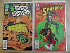 Green Lantern 94 Superboy 47 Idol Worship Parts 1, 2 (complete) FNVF