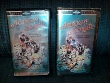 2 VHS Clamshell Variants Of American Graffiti