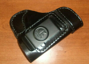 IWB Leather Holster OUTBAGS USA for SCCY CPX- 1 2 3 4 Right RH Belt Loop Used