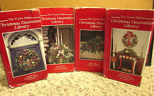 TRYON PALACE documentary Christmas Decoration 4-VHS colonial decor instructional