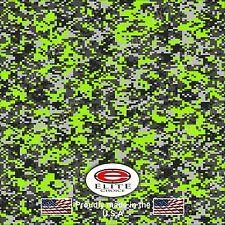 "Digital Camo Green DECAL 3M WRAP VINYL 52""x15"" TRUCK PRINT REAL CAMOUFLAGE"