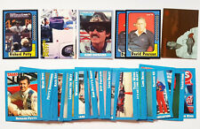 1991 RICHARD PETTY DAVID PEARSON MAXX TRAKS SET ASSORTED LOT of 50 CARDS