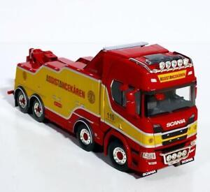 "Scania R highline CR20H falkom-wrecker ""Assistancekaren""WSI truck models 01-3287"