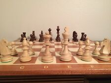 Tournament 6 - Non-Foldable Large 21inch Handcrafted Wooden Chess Set