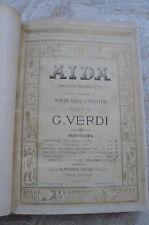 """""""AÏDA"""" de G.VERDI  en Français"""