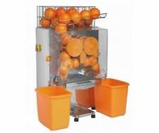 ELECTRIC COMMERCIAL AUTO FEED ORANGE LEMON SQUEEZER JUICER MACHINE 22-25 0/MINS