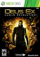 Deus Ex: Human Revolution (Microsoft Xbox 360, 2011) Complete