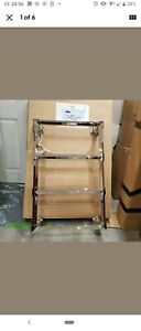Bard & Brazier Criterion Ctw 90/60 ElectricWall Mounted 4 Bar Towel Rail...