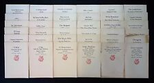 1950's Lot of 36 Newcomen Society Booklets on U.S. Business, Industry & History
