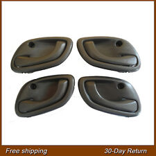 For 99-04 Chevy Chevrolet Tracker Inside Left Right Dark Gray Door Handle 4PCS