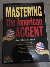 Mastering the American Accent by Lisa Mojsin (2016, Paperback)