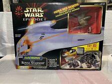 Star Wars Episode 1 Electronic Naboo Royal Starship Blockade Cruiser Play set