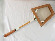 Vintage Rare Yonex Racket Dead Heat +Wood Cover Made in Japan