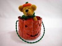 "World of Miniature Bears 2.75"" Velvet Bear Punkin #867 Collectible Bear"