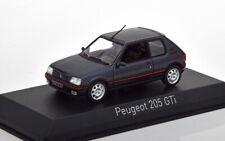NOREV 1:43 AUTO DIE CAST PEUGEOT 205 GTI 1.9 1992 DARK GREY GRIGIO SCURO  471714