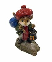 "Wee Forest Folk: ""Wanderlust"" Chip On Base, Collectible, W/ Box, M- 211"