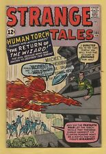 Strange Tales #105 Marvel Comics 1962 2nd Appearance of the Wizard VG