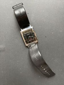 Skagen 324LSLB Square Shape Men Watch With Leather Strap