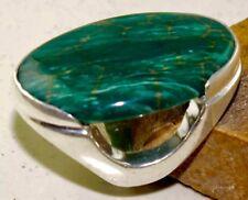 Magnificent Malachite Handmade Ring Size-10.25