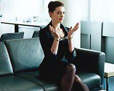 Anne Hathaway signed Christopher Nolan' Dark Knight Rises 8X10 photo