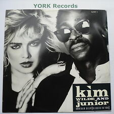 """KIM WILDE & JUNIOR - Another Step - Excellent Condition 12"""" Single MCA KIMT 5"""