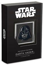 New! 2021 Star Wars Darth Vader 1 oz .999 silver coin NUIE COA & OGP-a