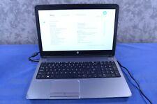 New listing Hp ProBook 650 G1 Intel Core i5-4200M 2.50Ghz 4Gb Ram 500Gb Hdd No Os J120402