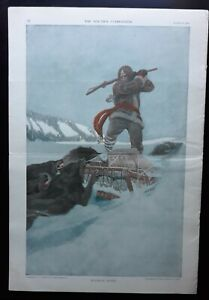 N. C. Wyeth Back Cover Art Youth's Companion 3/19 1908 Full Issue